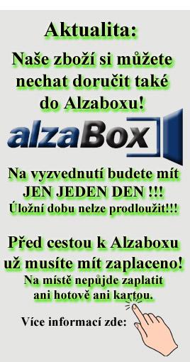 Vyzvednutí v Alzaboxu