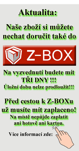 Vyzvednutí v Z-BOXu