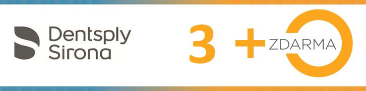 Dentsply Sirona - zvýhodněné nabídky 3+1