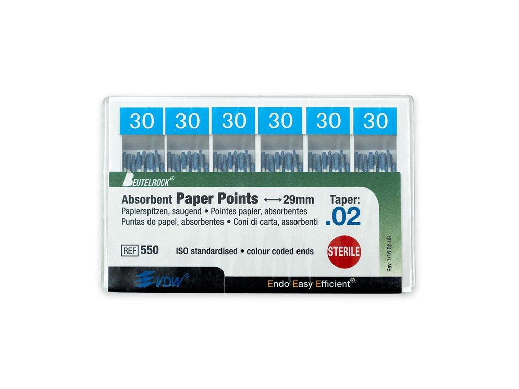 Papírové čepy 2% vel.030, 200ks