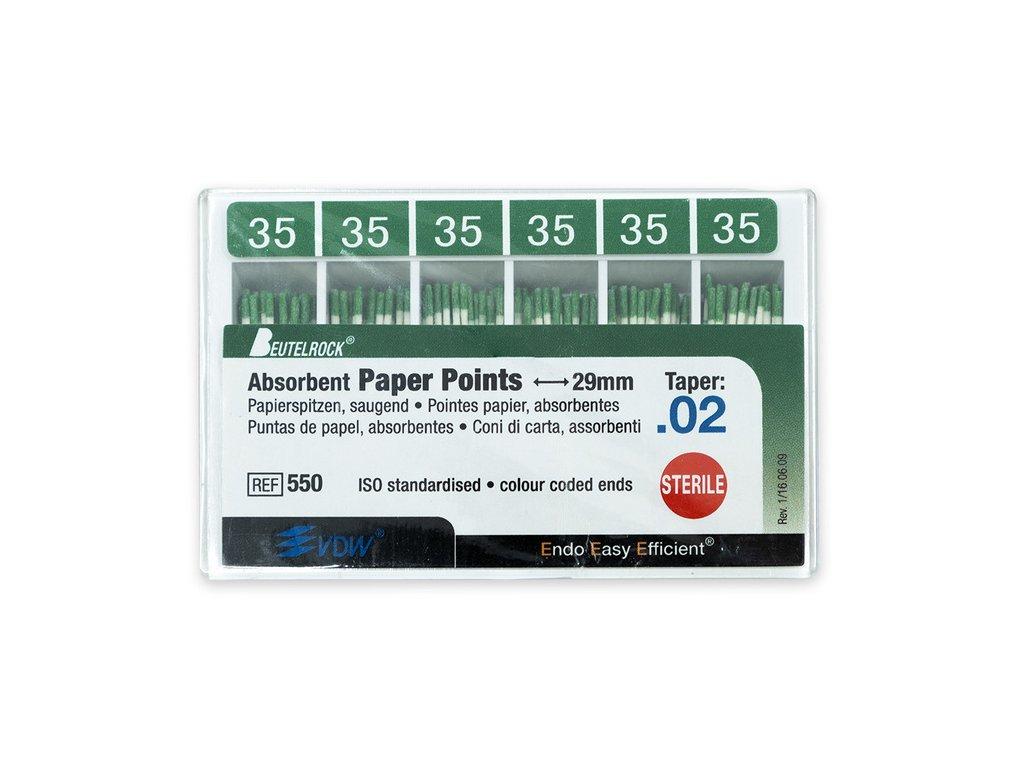 Papírové čepy 2% vel.035, 200ks