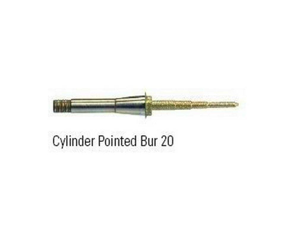 CYLINDER POINTED-BUR 20