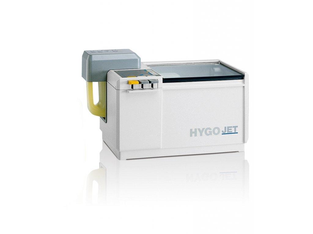 Hygojet - přístroj k dezinfekci a čištění otisků