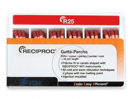 Reciproc gutaperčové čepy 025, 60ks