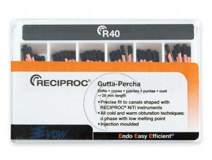 Reciproc gutaperčové čepy 040, 60ks