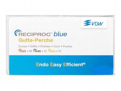 Reciproc blue gutaperčové čepy 050, 60ks