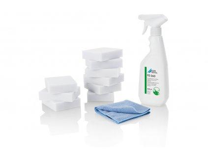 FD 360 čištění umělé kůže