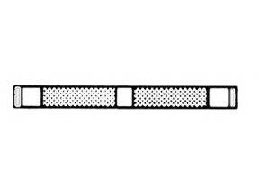 Pásky s nesypanými úseky/LM5503D