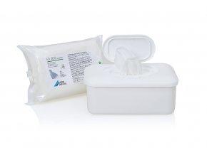 FD 300 top wipes - dezinfekční ubrousky 50 ks náhr. balení v dóze
