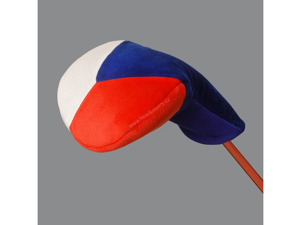 Headcover (návlek na golfovou hůl) vlajka ČR