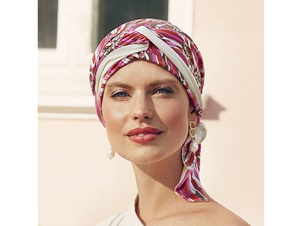 Turban Christine Beatrice, vzor Indian Summer