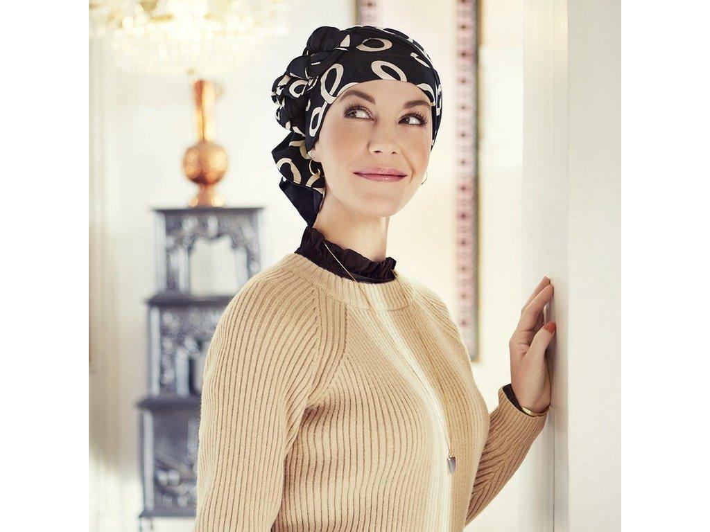 Šátek Christine Mantra, vzor Classic Bows