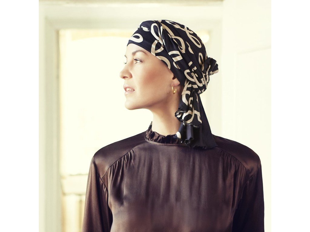 Turban Christine Tula, vzor Classic Bows