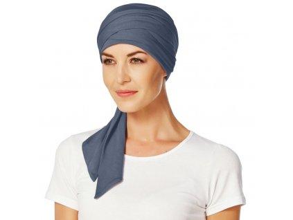 Šátek Christine Mantra, vzor Blue