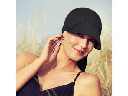 Šátek Christine Bianca, vzor Black