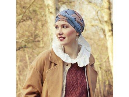 Turban Christine Shakti, vzor Autumn Illusions