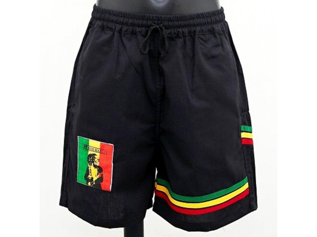 Kraťasy Rasta Bob Marley M