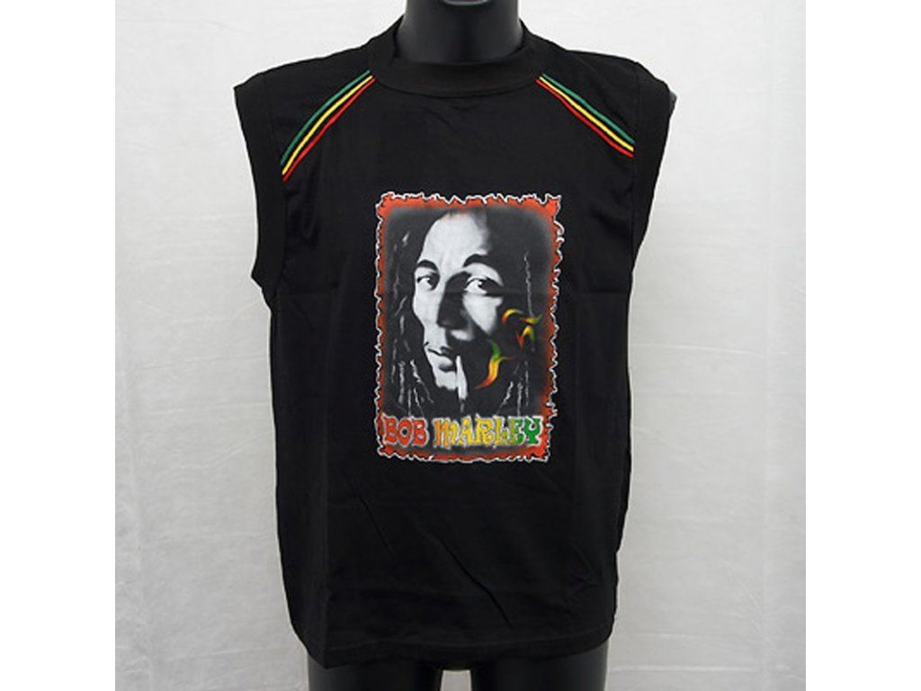 Tričko Bob Marley 04 L bez rukávů
