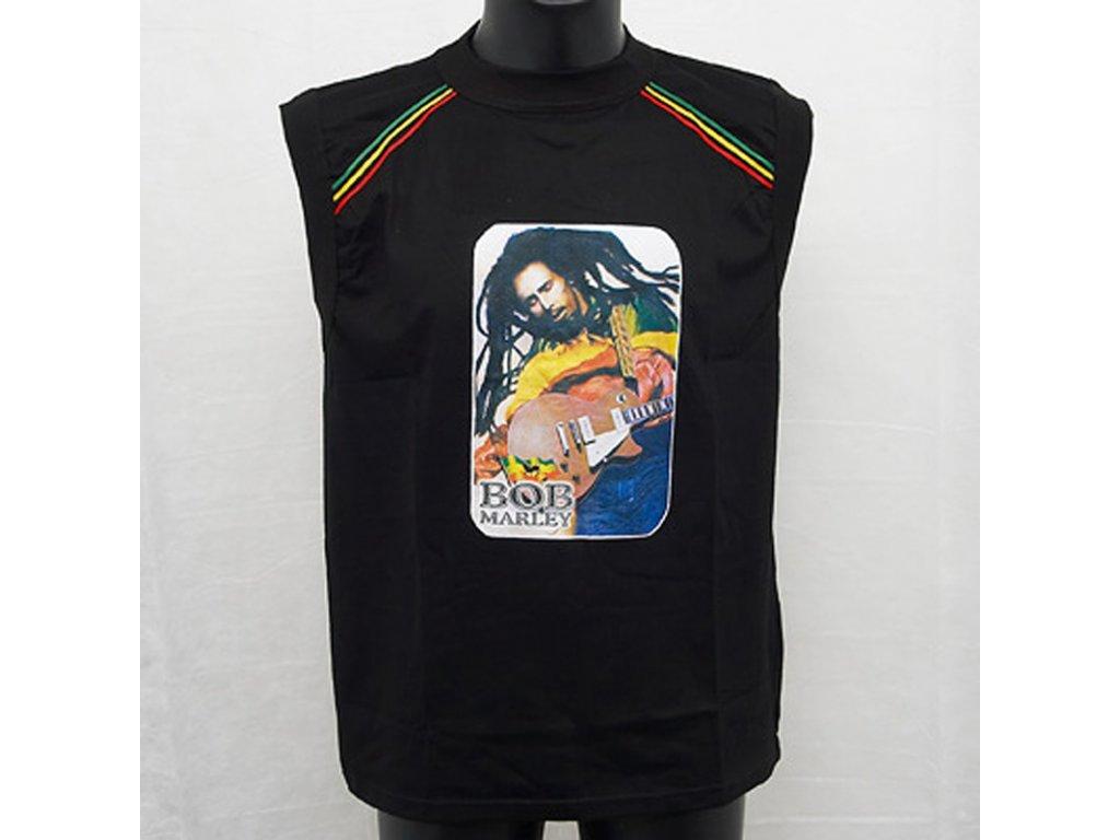 Tričko Bob Marley 03 L bez rukávů