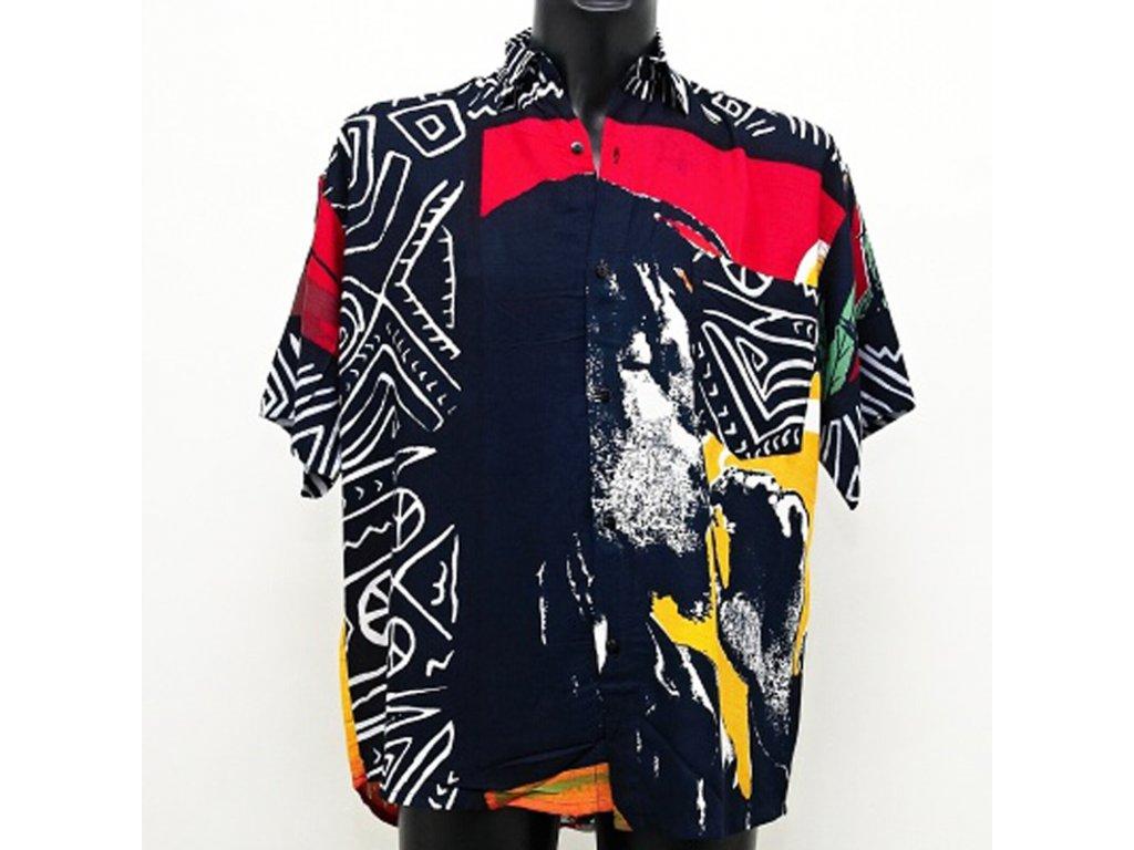 Košile Rasta Jamaica M