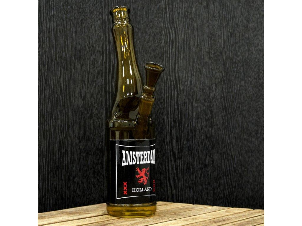 Bong Simax Beer Bottle Amsterdam 26 cm