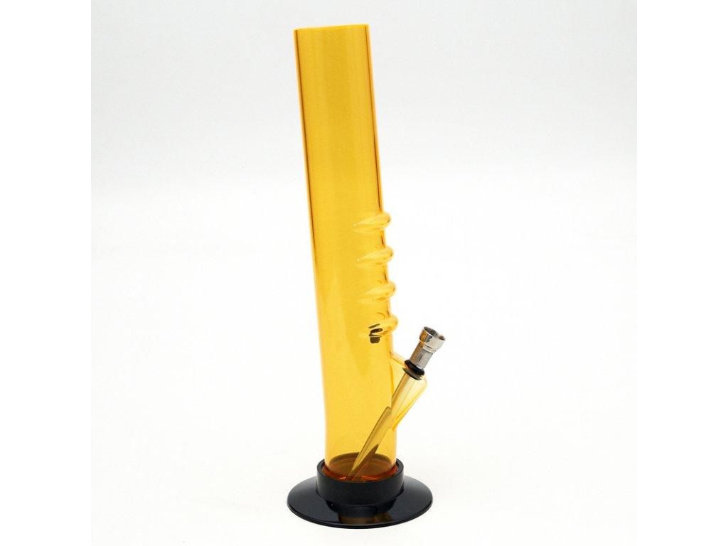 Bong acrylic Hold I 32 cm žlutá