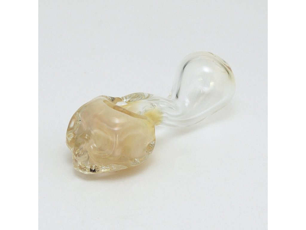 Šlukovka Pyrex Lebka 11 cm žlutá