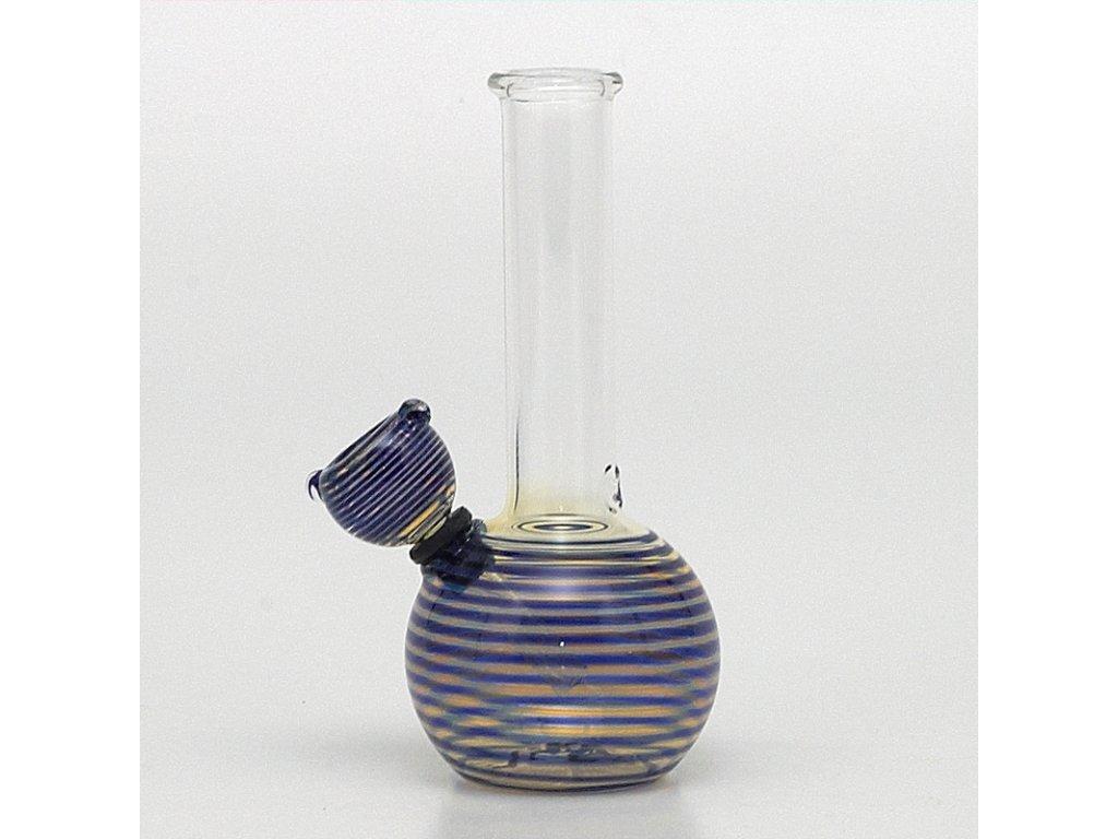 Bong Pyrex Baby 16 cm modrá