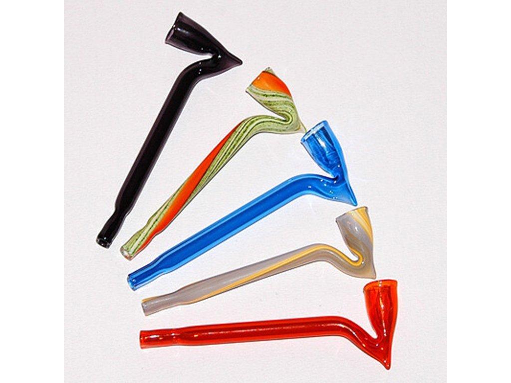 Skleněnka barevná Dagga 9 cm