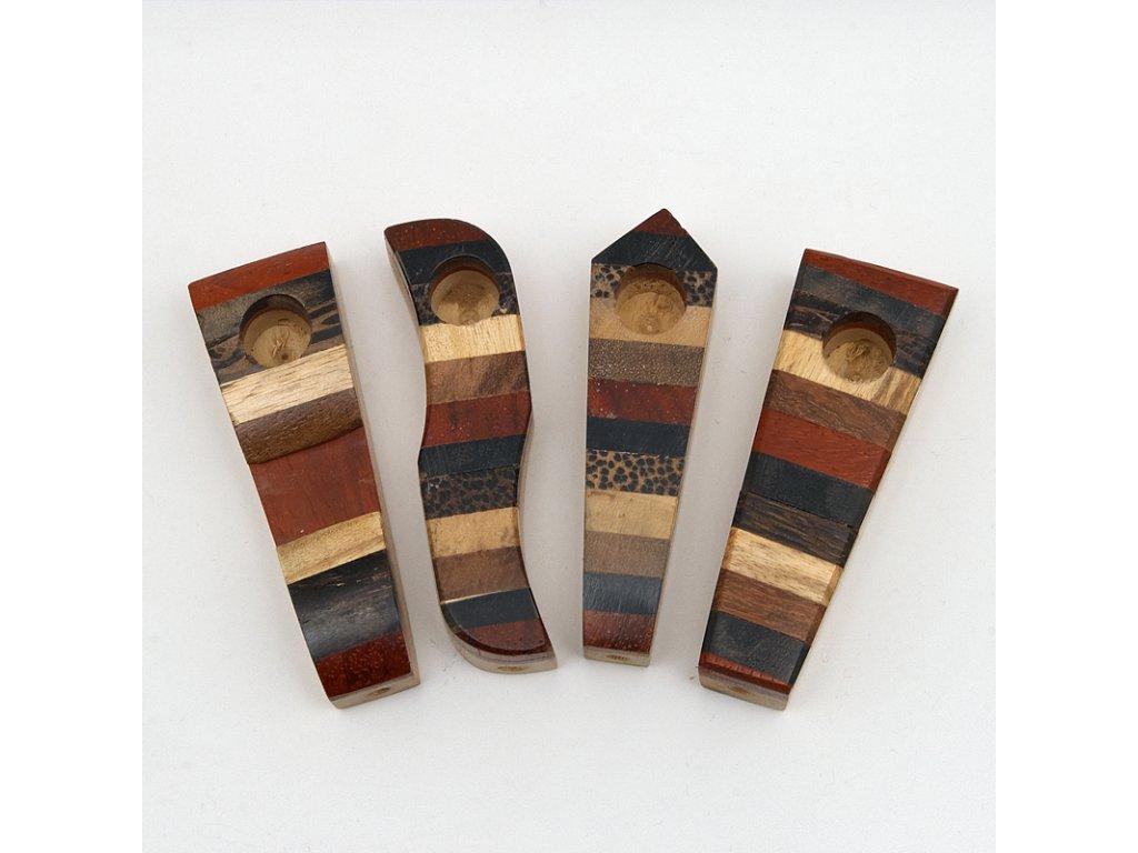 Šlukovka dřevo 7 cm zebra