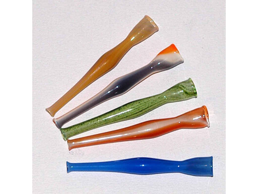 Skleněnka barevná Hemp 7 cm