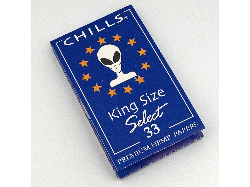 Cigaretové papírky Chills Select KS