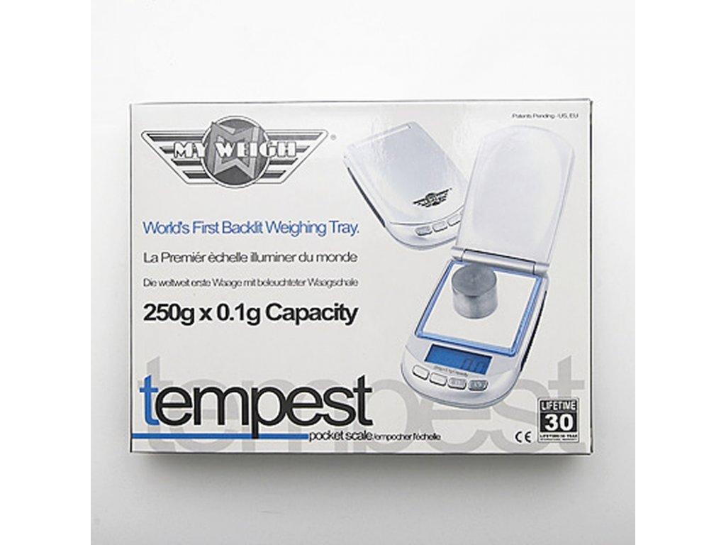 Digitální váha My Weigh Tempest 250 / 0,1 g