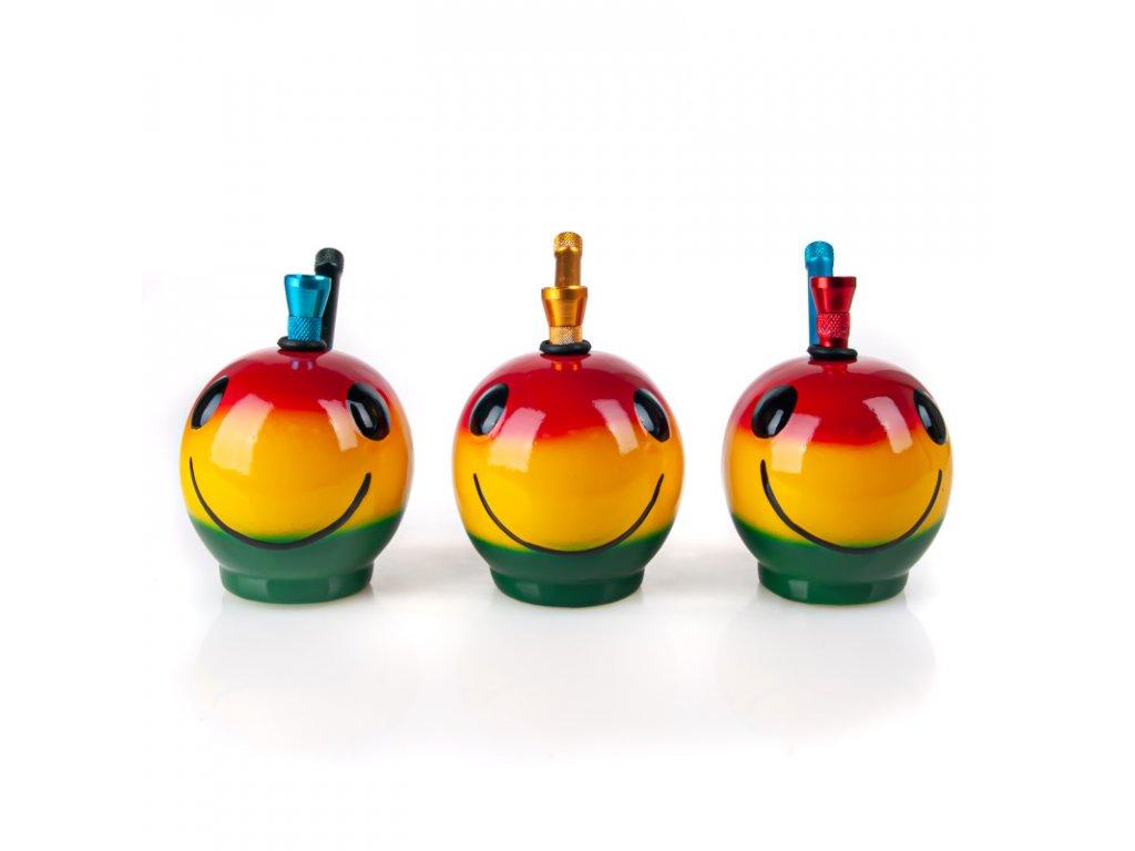 Bong keramika Smajlík I. 10 cm rasta