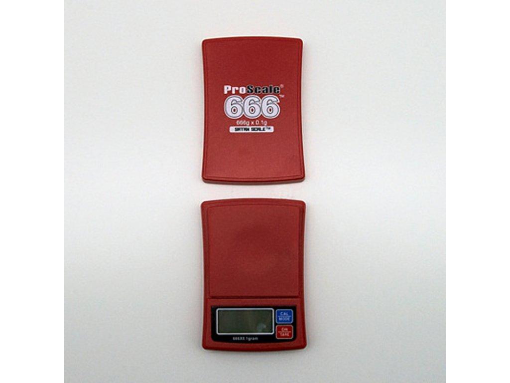 Digitální váha ProScale 666 / 0,1 g