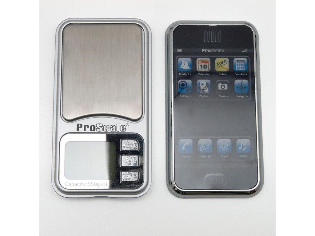 Digitální váha ProScale Touch 550 / 0,1 g
