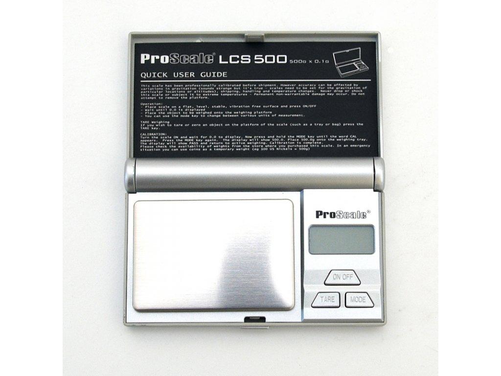 Digitální váha ProScale LCS - 500 / 0,1 g