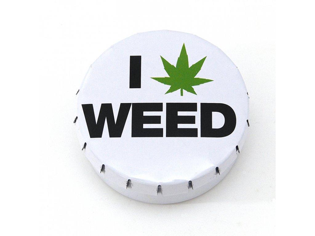 Krabička Click-Clack I * Weed