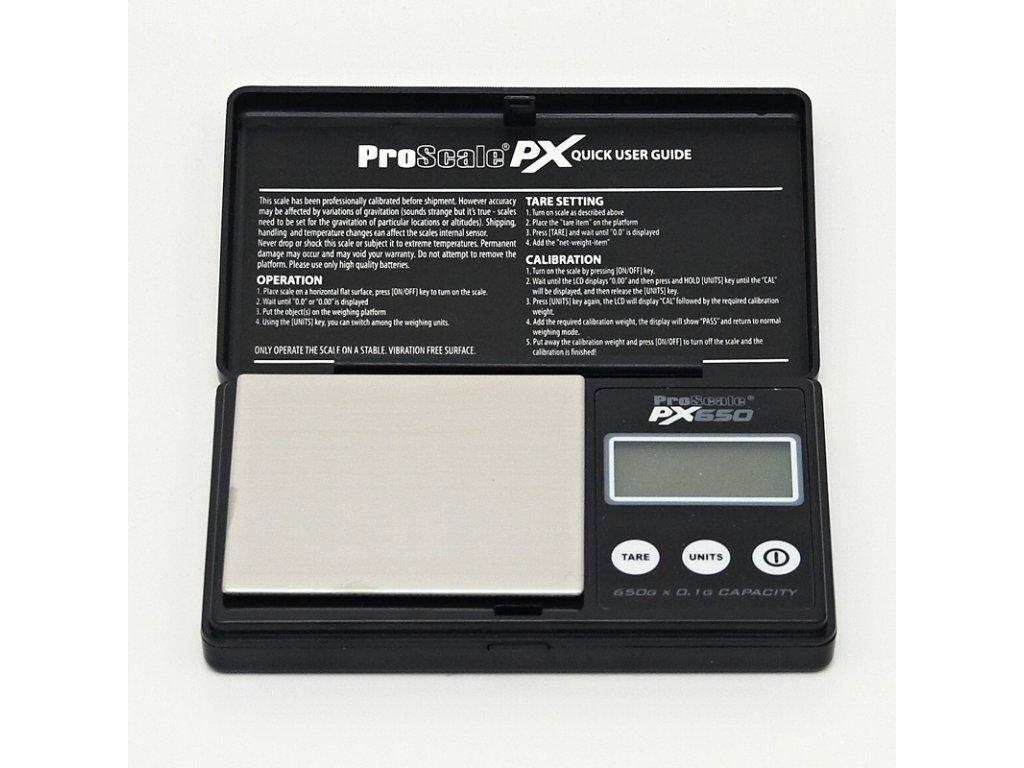 Digitální váha ProScale PX - 650 / 0,1 g