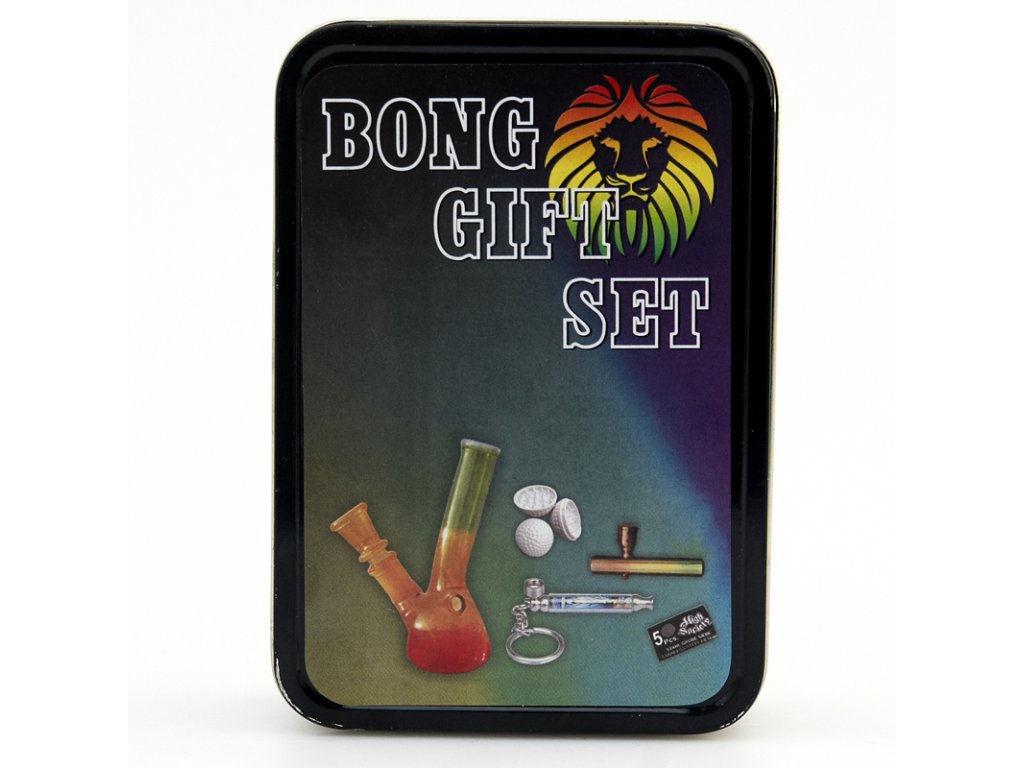 Bong Simax Set Rasta Lion