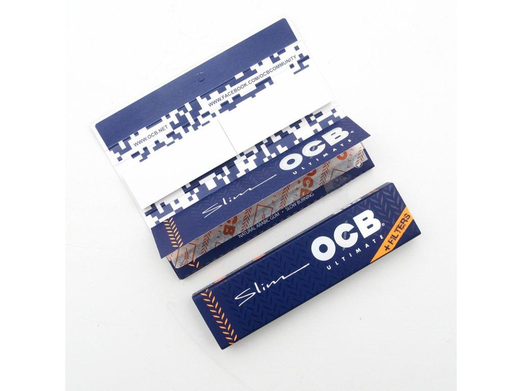 Cigaretové papírky OCB Ultimate Slim Filters