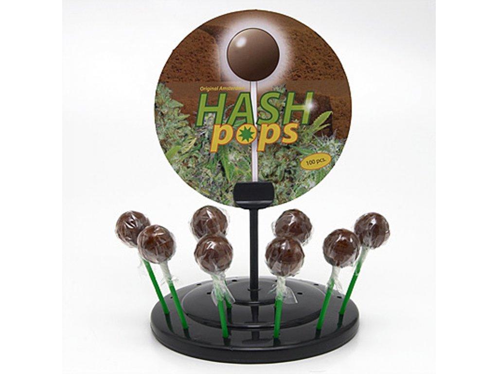 Konopné lízátko Hash Pops 1 ks