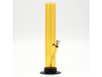 Bong acrylic Tube 33 cm žlutá