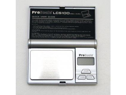 Digitální váha ProScale LCS - 100 / 0,01 g
