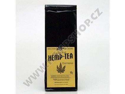 Konopný čaj Hemp Tea Damiana 40g BIO