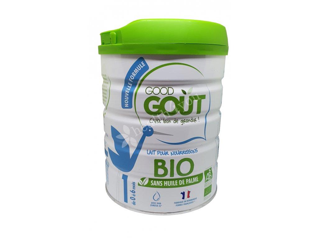 GOOD GOUT, BIO kojenecké mléko č.1 - vhodné od 0 do 6 měsíců