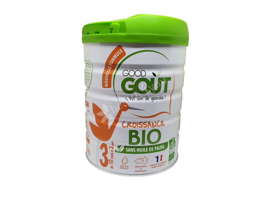 GOOD GOUT, BIO batolecí mléko č.3 – mléčná výživa pro malé děti