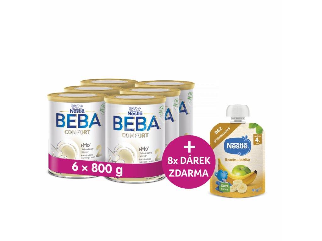 BEBA COMFORT 2 HM-O 6 x 800g