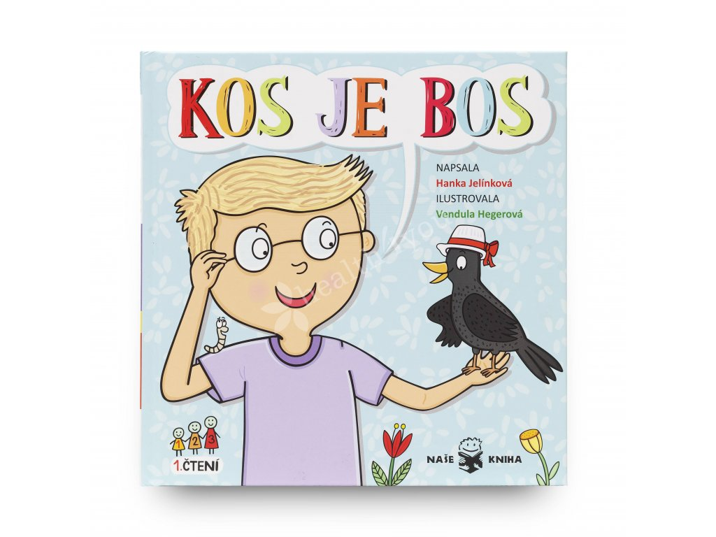 Dětská knížka Kos je bos