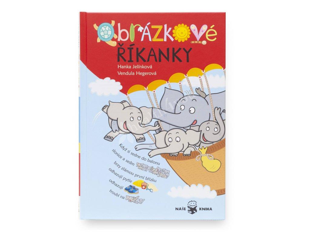 Obrázkové říkanky dětská knížka